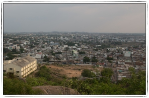 View from Falaknuma