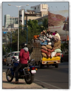 Truck riders in Begumpet
