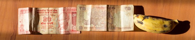 The ever elusive rupee notes