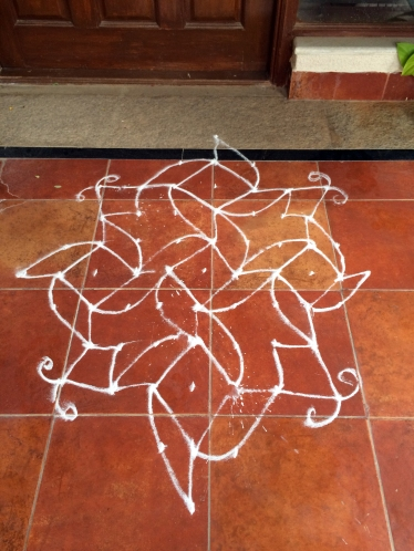 Second rangoli